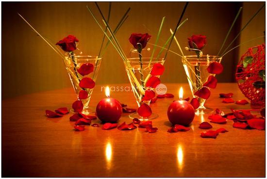 Романтический вечер с парнем